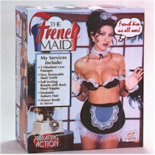 picture of French Maid Love Doll copyright © Discrete Online Shopping. Used by permission.
