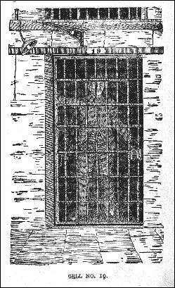 """Cell No. 19 from """"The Twin Hells"""" by John N. Reynolds"""