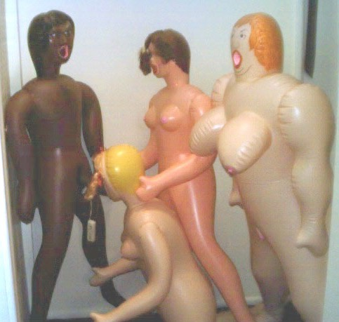 picture of four doll orgy copyright © Convergence Inc. Used by permission.