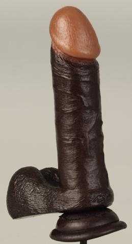 Six dildo Realistic inch