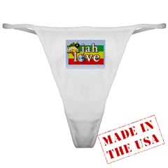 picture of Jah Love Classic Thong copyright © MichaelM. Used by permission.
